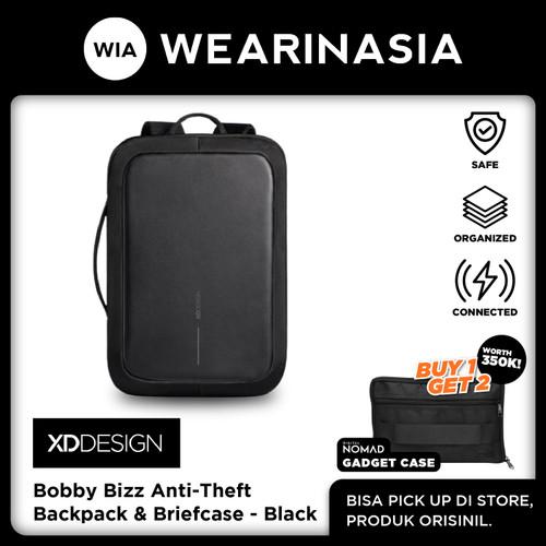 Foto Produk Ransel & Briefcase Anti Maling Original XD Design Bobby Bizz Black dari Wearinasia Official