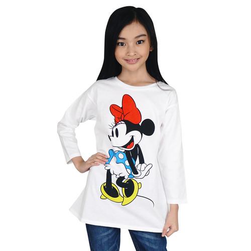Foto Produk KIDS ICON - Kaos Anak Perempuan MINNIE MOUSE 04 - 12 thn - MW100900200 - 4 thn dari Kids Icon