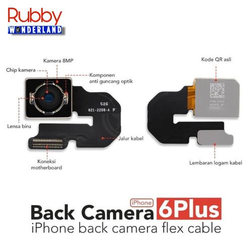 Foto Produk Kamera Belakang / Big Camera iPhone 6+ / 6 Plus Original dari Rubby Wonderland