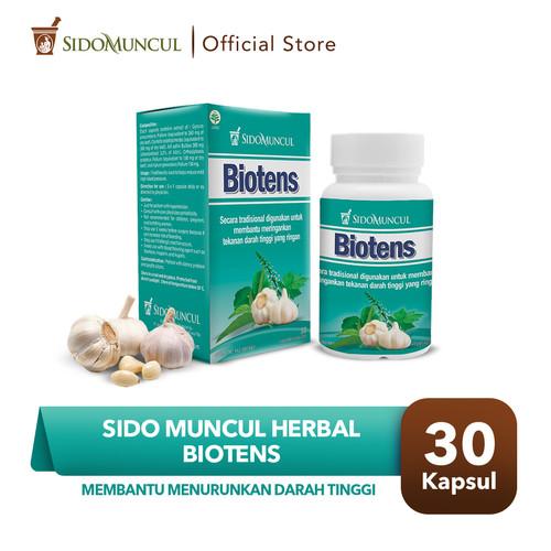 Foto Produk Sido Muncul Herbal Biotens 30 Kapsul - Menurunkan Darah Tinggi dari Sido Muncul Store