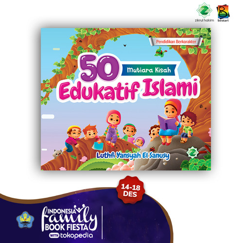 Foto Produk buku cerita anak - 50 mutiara kisah edukatif islami dari Bestari Book Store