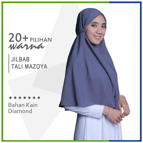 Foto Produk PREMIUM - Jilbab Instan Tali Mazoya Simpel Hijab Non Pet Diamon Crepe dari Jilbab Mazoya