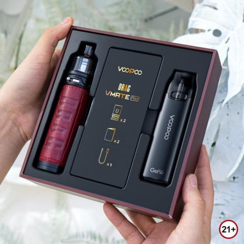 Foto Produk Authentic DRAG S 60W with Vmate 900mAh Paket Christmas dari VapeOi