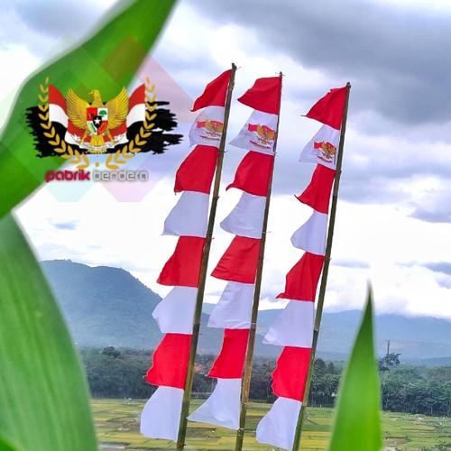 Foto Produk Bendera umbul umbul merah putih 8 gergaji dari Pabrik_Bendera
