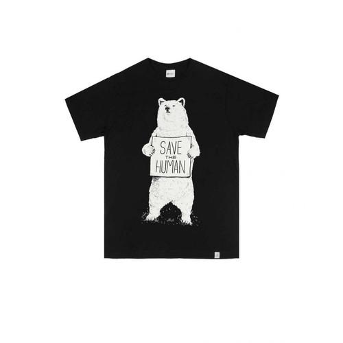 Foto Produk Reclays Tshirt SAVE THE HUMAN - BLACK - M dari Reclays Official Shop