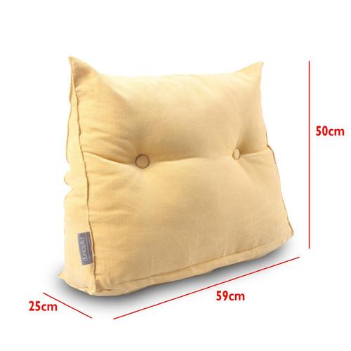 Foto Produk Dunlopillo Bedside Wedge Pillow ( bantal Sandaran Ukuran besar ) dari DUNLOPILLO