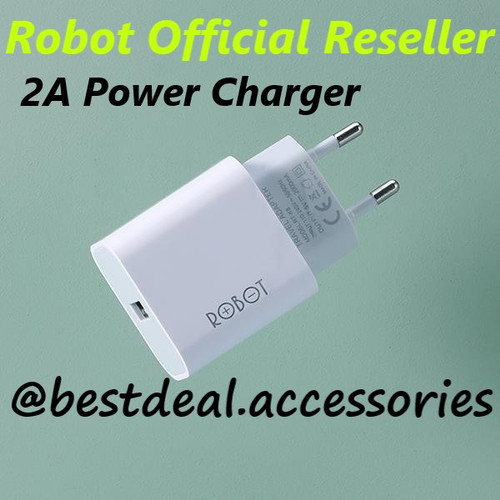 Foto Produk Robot RT-K8 2A 10W Small & Portable Power Charger (Per 1Pcs) dari bestdeal official