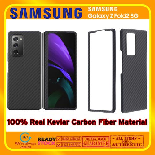 Foto Produk Case Samsung Galaxy Fold 2 Fold2 REAL ARAMID CARBON (Bukan PITAKA) dari Spigen Indonesia