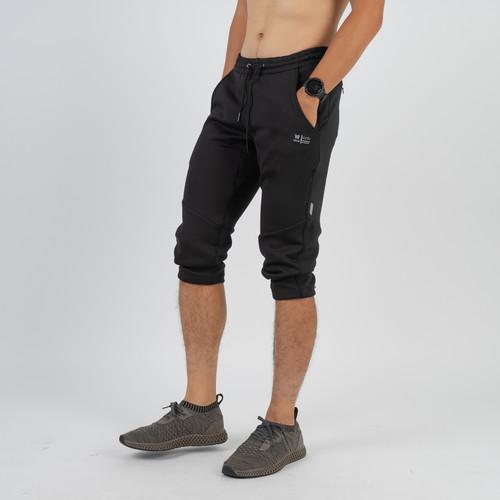 Foto Produk Atalon 3/4 Jogger Pants - Celana Jogger Training - Hitam, M 30 sd 32 dari Atalon Sportswear