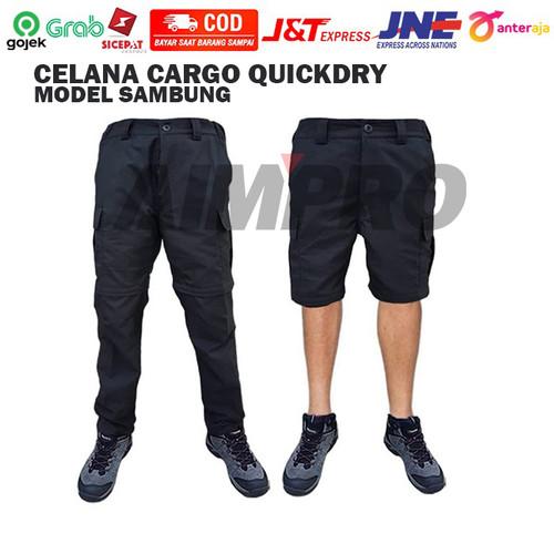 Foto Produk Celana Sambung Convertible Pants Stretch Quickdry - Celana 2 in 1 - Multi Warna, M dari AIMPRO