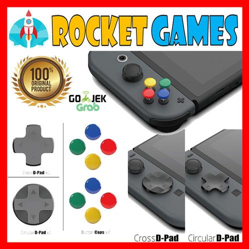 Foto Produk Skull & Co. Nintendo Switch D-Pad Button Cap ThumbStick Set Joy-Con dari Rocket games
