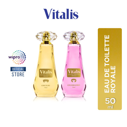 Foto Produk Vitalis Eau de Toilette Royale 50 ml - Celebration dari Wipro Unza Official