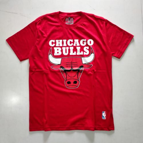 Foto Produk Baju Kaos Pria Chicago Bulls Warna Merah - M dari toko cepmpit