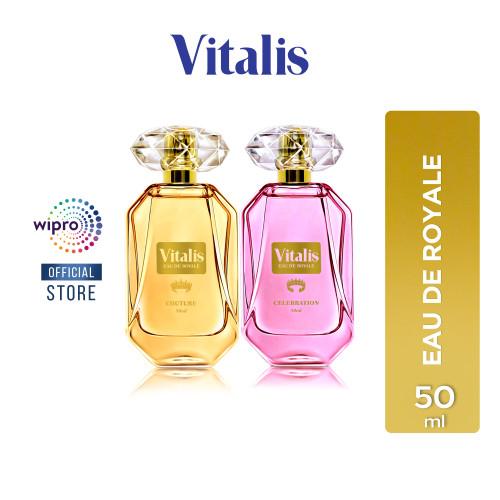 Foto Produk Vitalis Eau de Royale 50 ml - Celebration dari Wipro Unza Official