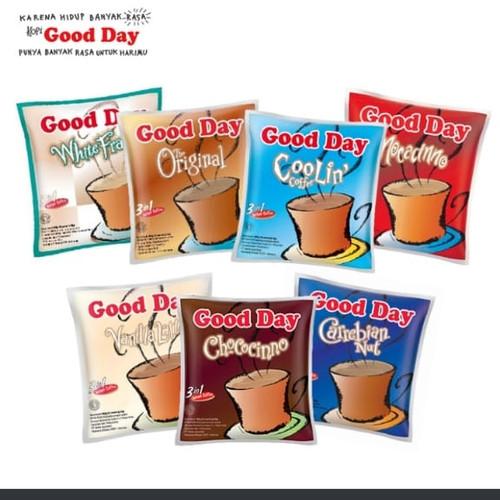 Foto Produk kopi good day renceng (10 sch) all variant - coolin dari Kami Antar