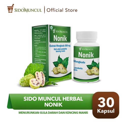 Foto Produk Sido Muncul Nonik 30 Kapsul Herbal -Mengkudu Meringankan Kencing Manis dari Sido Muncul Store