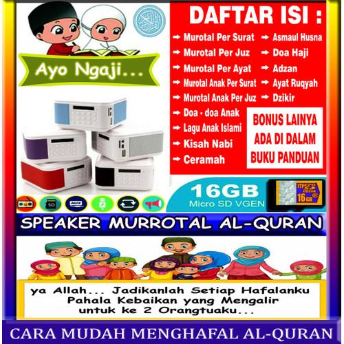 Foto Produk SPEAKER ALQURAN DIGITAL / SPEAKER MUROTAL QURAN dari A. Shop