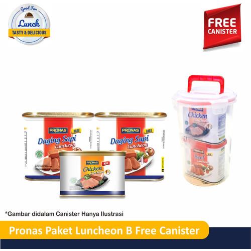 Foto Produk PRONAS Paket Luncheon B Free Canister dari Pronas Official Store