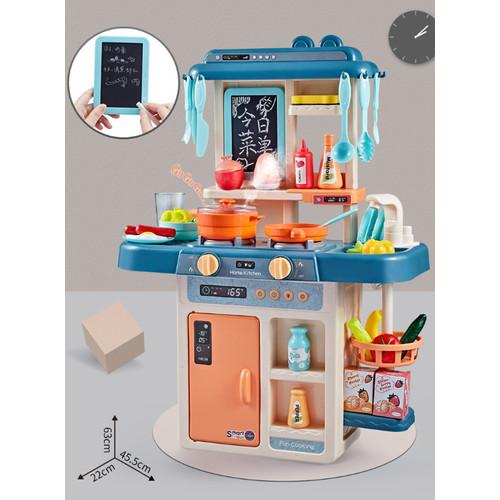 Foto Produk Mainan Anak Kitchen set 42pc Besar Set dapur masak masakan 42pc - Hijau dari ROZENZEEP