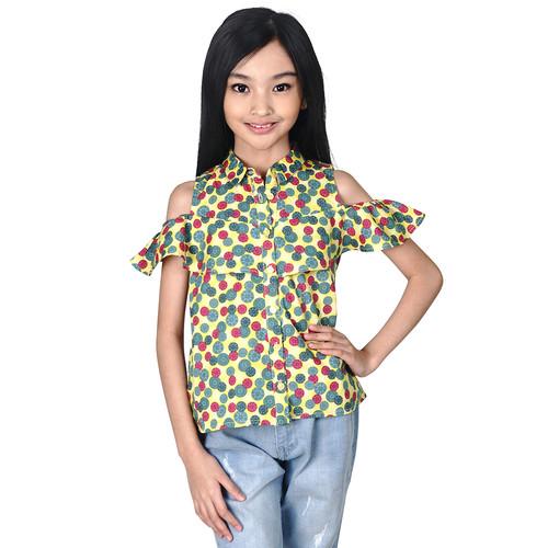 Foto Produk KIDS ICON - Blouse Anak Perempuan CURLY 4-14 Tahun - LYB01300180 - 6-7 tahun dari Kids Icon