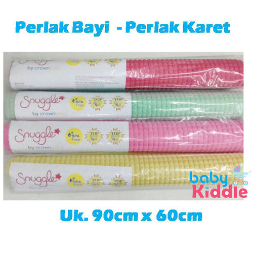 Foto Produk Perlak Bayi Karet / Perlak Ondo / Alas Ompol Polos Crown Baby - Merah/Biru dari Babykiddie
