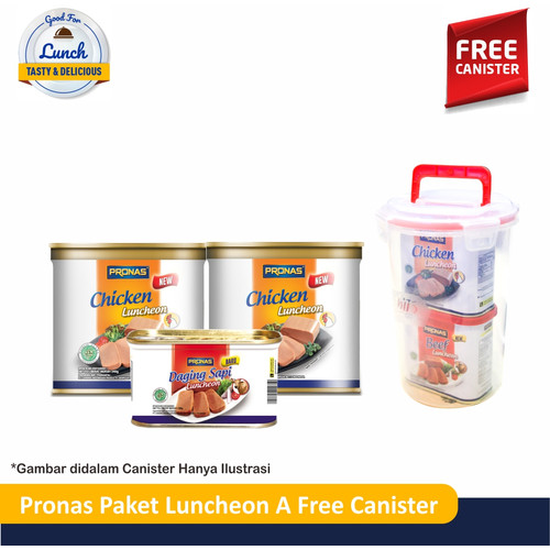 Foto Produk PRONAS Paket Luncheon A Free Canister dari Pronas Official Store