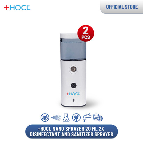 Foto Produk +HOCL Nano Sprayer 20 ml 2x - Disinfectant and Sanitizer Sprayer dari +HOCL Indonesia