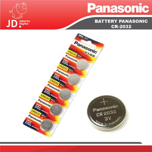 Foto Produk Panasonic CR2032 Lithium 3V MURAH dari Jakarta Digital