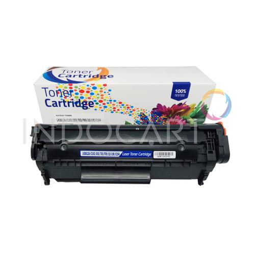 Foto Produk Toner Cartridge Compatible Q2612A 12A-Printer LaserJet HP 1010 1020 dari INDOCART
