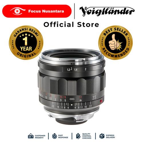 Foto Produk VOIGTLANDER LENS F1.2/35MM VM III NOKTON dari Focus Nusantara