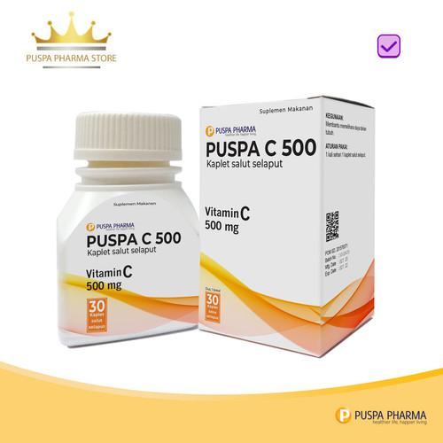 Foto Produk Puspa C 500 - Vitamin C 500mg dari Puspa Pharma Store