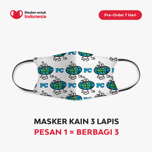 Foto Produk Public Culture x Masker untuk Indonesia dari Masker untuk Indonesia