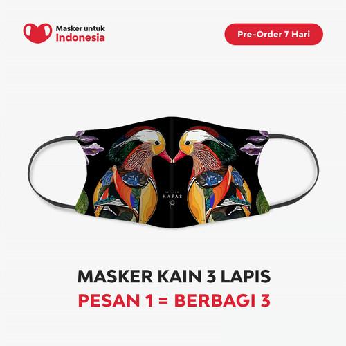 Foto Produk Seratus Kapas x Masker untuk Indonesia dari Masker untuk Indonesia
