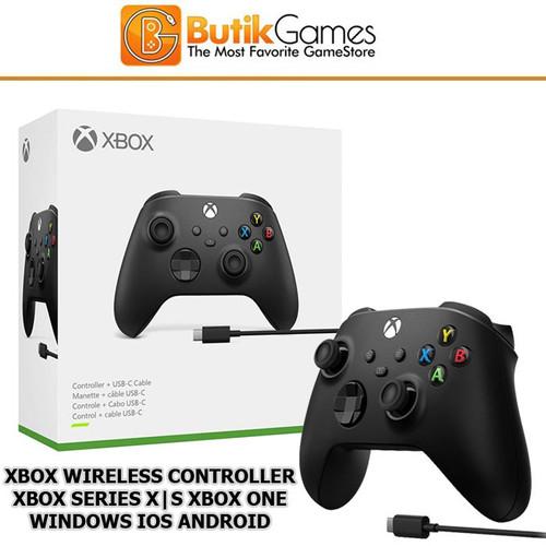 Foto Produk Stick Xbox Series X S Xbox One Wireless Controller + USB Type C dari Butikgames