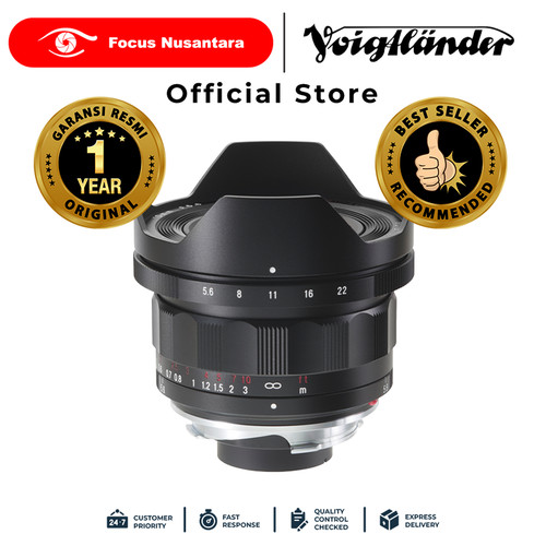 Foto Produk VOIGTLANDER LENS F5.6/10MM VM HELIAR-HYPER WIDE dari Focus Nusantara