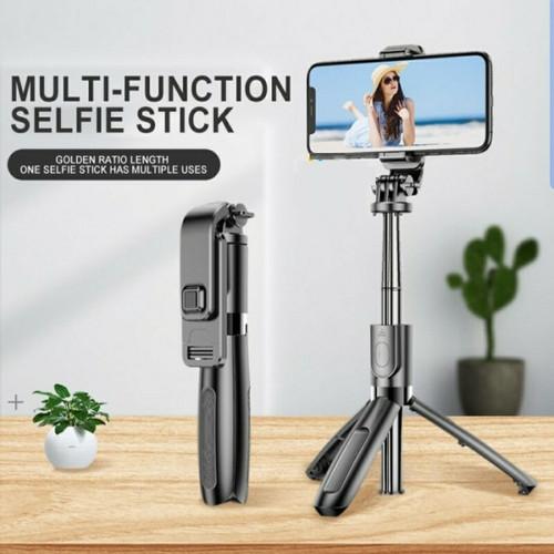 Foto Produk Tongsis Selfie Stick L01 3in1 Tripod & Bluetooh Shutter Original dari SARANG ACC shop