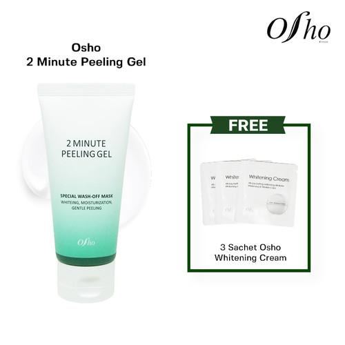 Foto Produk Osho - 2 Minute Peeling Gel Free 3 Sch Osho Whitening Cream dari Osho Korea Official