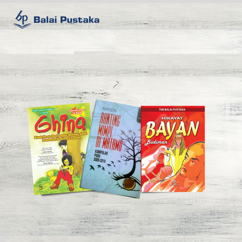 Foto Produk Paket Bundling III Buku (j) dari Balai Pustaka
