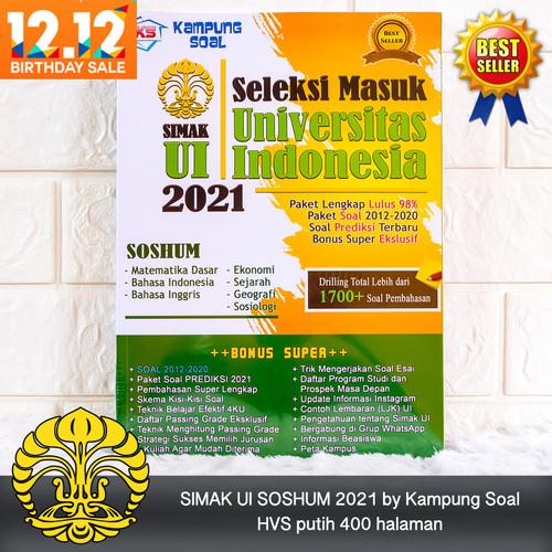 Jual Simak Ui Soshum 2021 Kampung Soal Kab Sleman Kampung Soal Tokopedia