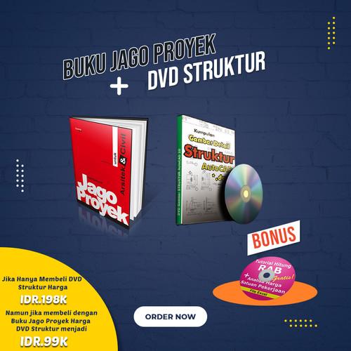 Foto Produk Buku JAGO PROYEK Arsitek dan Sipil dan DVD STRUKTUR dari Arsitek Online 77