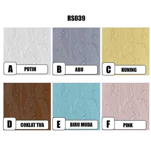 Foto Produk Semua Gratis - Wallpaper 3D Foam / Wallpaper Dinding 3D Wall Sticker - RS039, D dari Semua Gratis