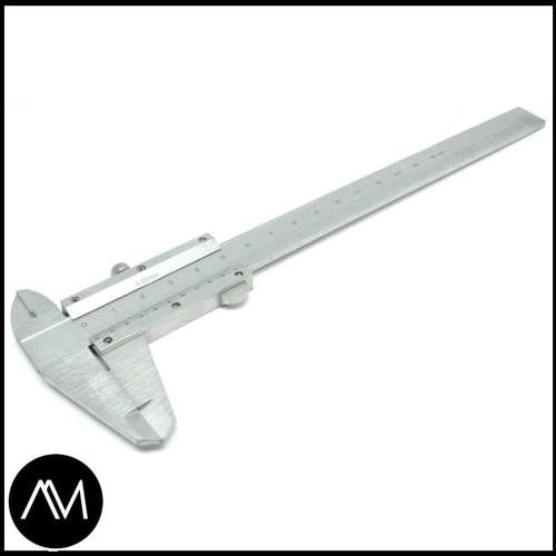Foto Produk Jangka Sorong Stainless Steel Vernier Caliper Gauge Micrometer 15CM dari Andikmonitor