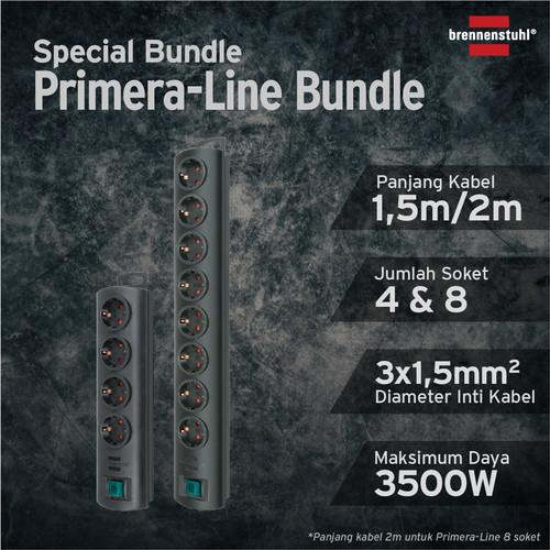 Foto Produk Brennenstuhl Stop Kontak Primera Line Bundle 1153300128/1153300124 dari Brennenstuhl Indonesia