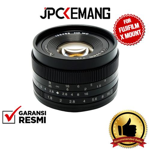 Foto Produk 7Artisans 50mm f/1.8 for Fujifilm X Mount dari JPCKemang