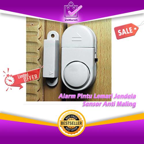 Foto Produk Alarm Pintu Lemari Jendela / Sensor Anti Maling dari Demurah Dot Com
