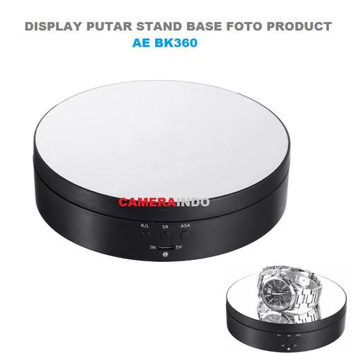 Foto Produk Rotating display Fotografi display Putar Stand Base AE BK360 dari SMN Official