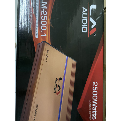 Foto Produk Power amplifier monoblock LM 2500.1 dari Circle car audio