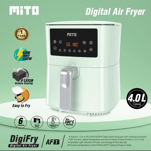 Foto Produk Mito Digital Air Fryer mito original resmi garansi resmi dari BBTronik