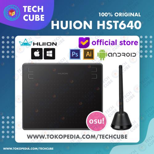 Foto Produk Huion HS64 / HST640 Graphic Drawing Pen Tablet Android PC alt H430P - Tablet dari Tech Cube