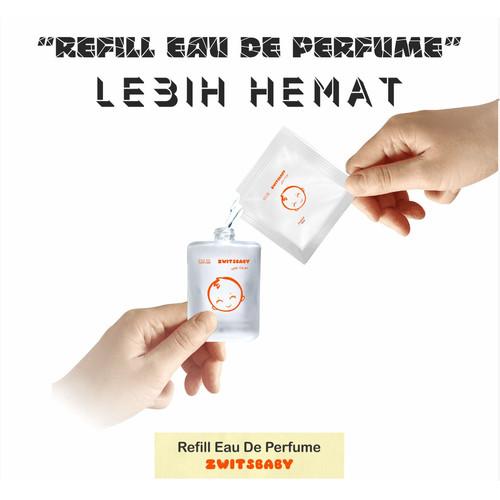 Foto Produk Refill Parfum Badan Garuda Indonesia - Parfum Zwitsbaby Sweetbaby - Zwitsbaby dari Distributor HPAI